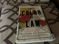 The Color of Law : A Forgotten History of How Our Government Segregated... $11.89