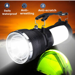 Solar Power Rechargeable LED Flashlight Camping Tent Lights Lantern Lamp Outdoor $11.96