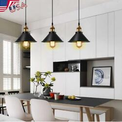 Vintage Industrial Loft Style Metal Ceiling Light Pendant Shades Lampshade Lamps $127.69