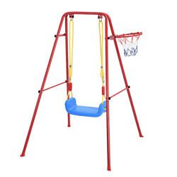 Baby Toddler Kids Swing Basketball Combination Swing Toy Set Indoor Outdoor Play $56.99