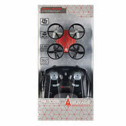 Voyage Aeronautics Micro Drone with Remote RED 6 Axis Gyro FAST FREE SHIPPING $33.50