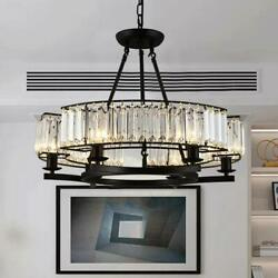 Crystal E14 6 Light Chandelier Home Lighting Ceiling Fixtures Bedroom Decor Lamp $139.90