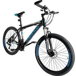 Folding Mountain Bike 26quot; Full Suspension Bicycle 21 Speed MTB Mens bikes $196.99