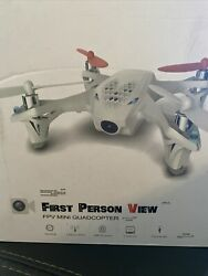 Hubsan First Person View mini Quadcopter FPV $69.49