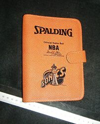 Seattle Sonics Spalding Official Game Ball Day Planner $65.00