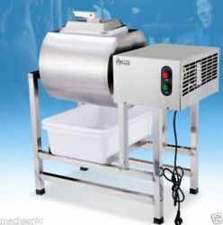 Stainless Steel Meat Salting Machine Meat Poultry Tumbler Machine 25L $1173.15