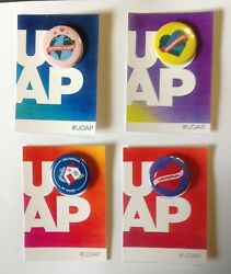 UOAP Universal Orlando Passholder At Home Button Set Fan Made $15.00