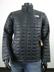 NWT Mens TNF The North Face Thermoball ECO Insulated FZ Puffer Jacket Black $137.70