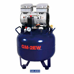 32L Dental Air Compressor Oil Free Noiseless Silent Oil less Oil Free 850W $349.01
