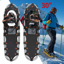 30quot; Snowshoes Aluminum Frame w Carry Bag and Buckle for Men and Women $62.82