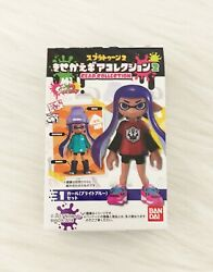 SPLATOON 2 KISEKAE PURPLE GIRL INKLING DRESS UP FIGURE GEAR BANDAI SHOKUGAN $54.96