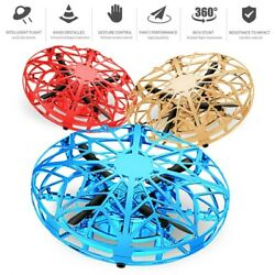 Mini Drone Quad Induction Levitation Smart UFO Hand Control Helicopter Toys $19.46