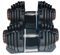 Adjustable Dumbbells 10 90 LBS Pair $500.00