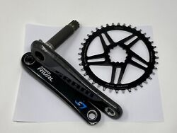 Stages Cycling 170mm GXP Power Meter Crankset SRAM S900 Carbon Rival Aluminum $375.00