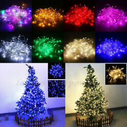 Christmas LED Fairy String Lights Lamps Wedding Party Home In Outdoor Decor Lamp