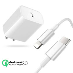 iPhone 12 Pro Max Fast Charger USB C PD Charger Block Power Adapter For Apple $23.74