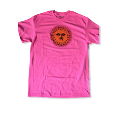 Original 1970s Design Hippie Sun Women#x27;s Pink T Shirt Medium reg. $19.95 $12.95