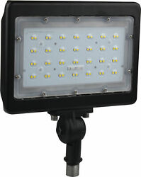 Nuvo Lighting 65 538 9quot;W LED Commercial Flood Light 4000K Bronze