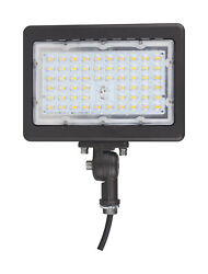 Nuvo Lighting 65 617 10quot;W 90 Watt LED Commercial Flood Light 4000K Bronze
