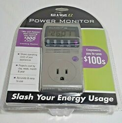 P3 INTERNATIONAL ENERGY MONITOR KILL A WATT EZ P4460 $40.00