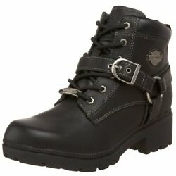 Harley Davidson Women#x27;s Tegan Ankle Boot Color BLACK $89.99