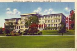 RHODE ISLAND COLLEGE OF EDUCATION PROVIDENCE 1946 $14.99