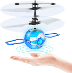 Flying Toy BallInfrared Induction UFO RC Flying ToyBuilt in LED Flying Drone I $23.90