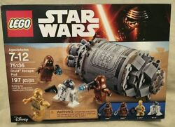 Lego Star Wars 75136 Droid Escape Pod New Sealed Retired Jawa Death Star R2 D2 $39.99