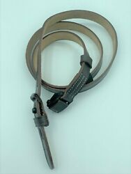WWII GERMAN K98 98K RIFLE LEATHER RIFLE CARRY SLING BROWN MAUSER 8MM $17.07