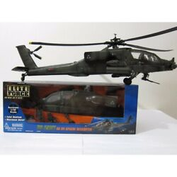 1 18 ELITE FORCE AH 64 APACHE HELICOPTER $499.99