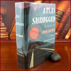 ATLAS SHRUGGED Ayn Rand TRUE 1ST TRADE EDITION 1st print 1957 Random House $375.95