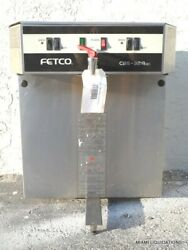 Fetco CBS 32Aap Dual commercial coffee brewer maker Stainless Steel $146.99