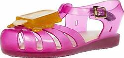 Melissa Mini Aranha VIII BB Girls Popsicle Sandal Coral Yellow $7.19