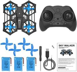 Brand New NH320 Mini Drones RC Small Quadcopter Drone with 3 Batteries 3D Flip $33.99