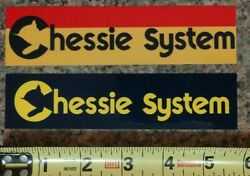 Chessie System quot;Set of 2quot; Railroad Train Logo Sticker Decal High Quality NEW $6.00
