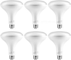 Hyperikon BR40 LED Bulb Dimmable 15W E26 Warm White 6 Pack