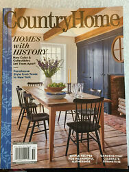 COUNTRY HOME Magazine SPRING 2020 HOMES WITH HISTORY Farmhouse Style DECOR New $8.49
