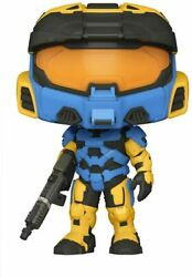 Funko POP Games: Halo Infinite Spartan Mark VII with VK78 Blue amp; Yellow with $11.95