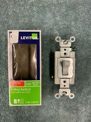 Leviton Commercial 15 amps Toggle Switch White
