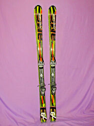 Fischer AMC 79 All Mountain skis 176cm w Fischer FX 12 adjustable ski bindings $159.00