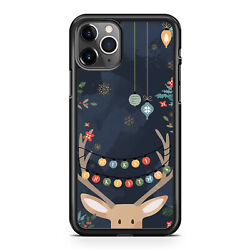Happy Christmas Holiday For iPhone X XR XS MaX 11 12 Case Cover $13.99