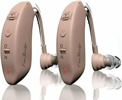 Hearing Amplifier Aid Rechargeable Digital Sound Amplifie One Pair 2 Packs $29.99