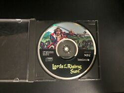 Lords of the Rising Sun for TurboGrafx CD Turbo Duo $27.99