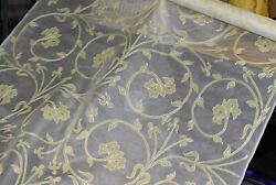 GORGEOUS SILK ORGANZA NOVELTY HIGH END SILK SHEERS 44 45quot; WIDE. $22.95