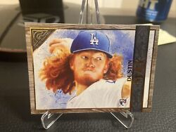 2020 Topps Gallery Dustin May RC ** Wood Panel Parallel $3.95