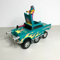 M.A.S.K. Vintage Hurricane Vehicle Car with Figure Hondo Maclean Incomplete $44.99