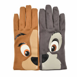 Lady and the Tramp Gloves Face Sweet Lady Disney Store Japan $31.00
