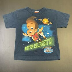 Vintage Jimmy Neutron Shirt 2002 Nickelodeon Kids M 5 6 90s Cartoon TV Promo $30.00
