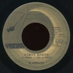 chicago electro funk boogie 7quot; SLAPBACK Party Hardy Back ♫ MP3 Magic Touch 1982 $29.99