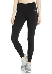 Spalding Women#x27;s High Waisted Legging Black Small $20.19